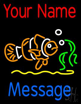 Custom Clown Fish Neon Sign