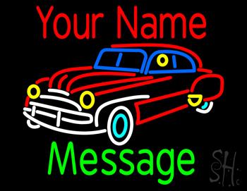 Custom Car Neon Sign