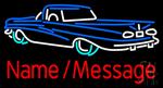 Custom Car 3 Neon Sign