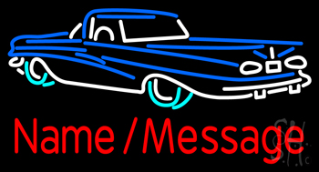 Custom Car 3 Neon Sign