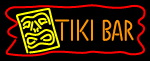 Tiki Bar with Logo Neon Sign