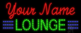 Custom Green Lounge Led Sign