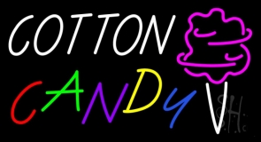 White Cotton Candy Neon Sign