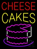 Cheese Cakes Neon Sign