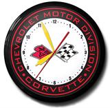 Corvette Banded 20 Inch Neon Clock