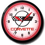 Corvette C-4 20 Inch Neon Clock