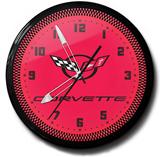 Corvette C5 20 Inch Neon Clock