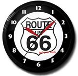 Route 66 20 Inch Neon Clock