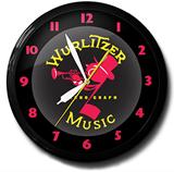 Wurlitzer 20 Inch Neon Clock