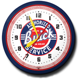 Buick Authorized Service 20 Inch Neon Clock