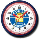 Cadillac Service 20 Inch Neon Clock