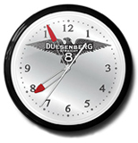 Duesenberg Straight 8 20 Inch Neon Clock
