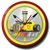 Hot Rod 20 Inch Neon Clock