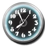 Numbers 20 Inch Neon Clock