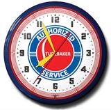 Studebaker 20 Inch Neon Clock