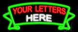 Custom Ribbon Neon Sign
