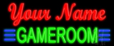 Custom Green Game Room Neon Sign