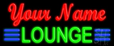 Custom Lounge Neon Sign