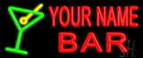 Custom Martini Glass Bar LED Neon Sign