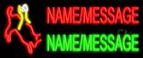 Custom Bull Rider Neon Sign