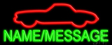 Custom Car Neon Sign
