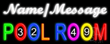 Custom Pool Room Neon Sign
