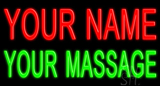 Custom Massage Neon Sign