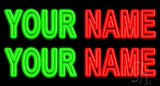 Custom Name Neon Sign