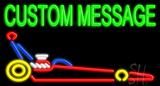 Custom Dragster Car Neon Sign