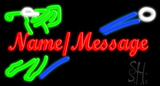 Custom Golfer Neon Sign