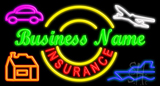 Custom Insurance Neon Sign