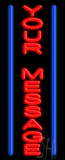 Custom Vertical Lines Neon Sign