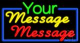 Custom Multicolored Neon Sign