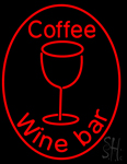 Caffe Wine Bar Neon Sign