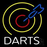 Dart Board Neon Sign
