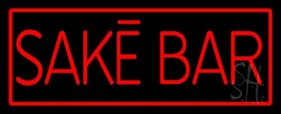 Sake Bar Neon Sign