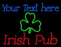 Custom Irish Pub Neon Sign