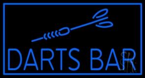 Dart Bar Neon Sign