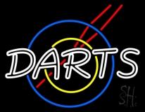 Darts Neon Sign