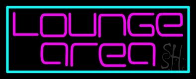 Lounge Area LED Neon Sign