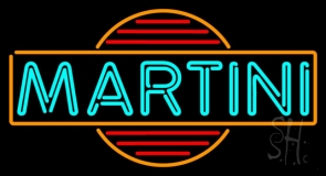 Martini Bar Neon Sign
