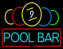 Pool Bar Neon Sign