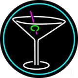 Second Life Marketplace Martini Neon Sign