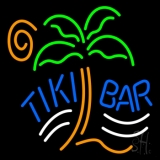 Tiki Bar Palm Tree Neon Sign