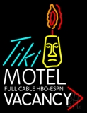Tiki Vacancy Neon Sign