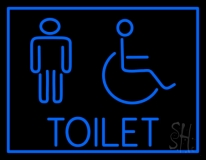 Toilet LED Neon Sign