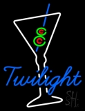 Twilight Martini Glass Bar Neon Sign