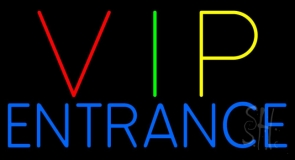 Vip Entrance Neon Sign