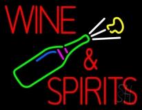 Wine and Spirits Neon Sign