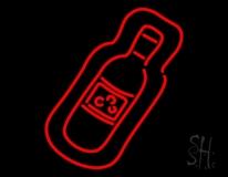 Wine Bottle Neon Sign